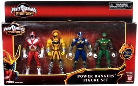 Power Rangers Mystic Force Action Figure 4-Pack Red, Yellow, Blue & Green Rangers