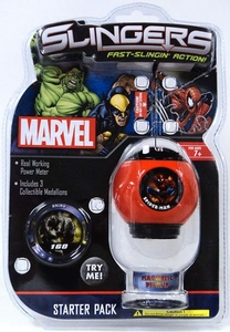 Marvel Slingers Magnetic Pick-Up Game Starter Pack Spider-Man