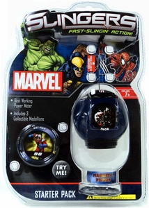 Marvel Slingers Magnetic Pick-Up Game Starter Pack Thor