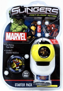 Marvel Slingers Magnetic Pick-Up Game Starter Pack Wolverine
