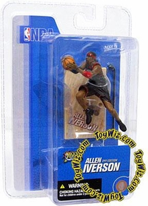 McFarlane Toys NBA 3 Inch Sports Picks Series 3 Mini Figure Allen Iverson (Philadelphia 76ers)