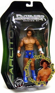 WWE Wrestling Ruthless Aggression Series 21 Action Figure Carlito Cool