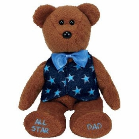 Ty Beanie Baby All Star Dad the Bear
