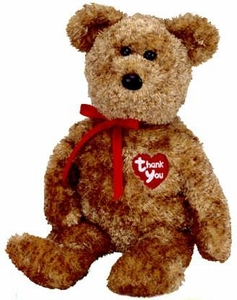 Ty April 2004 Beanie Baby of the Month Thank You the Bear