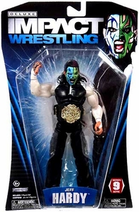 TNA Wrestling Deluxe Impact Series 9 Action Figure Jeff Hardy