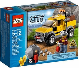 LEGO City Exclusive Set #4200 Mining 4x4
