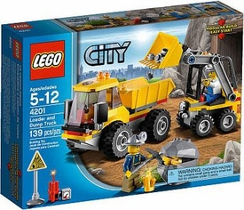 LEGO City Exclusive Set #4201 Loader & Dump Truck