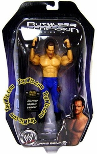WWE Wrestling Ruthless Aggression Series 19 Action Figure Chris Benoit