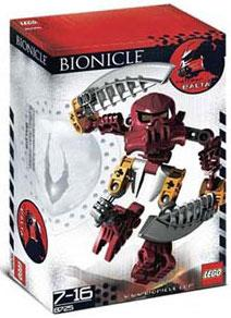 LEGO Bionicle Matoran Set #8725 Balta [Red]