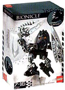 LEGO Bionicle Matoran Set #8724 Garan [Black]