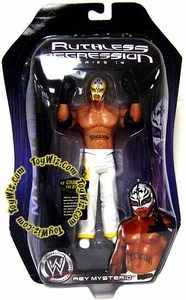 WWE Wrestling Ruthless Aggression Series 19 Action Figure Rey Mysterio