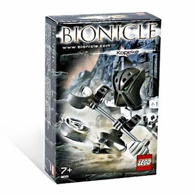 LEGO Bionicle Matoran Set #8581 Kopeke [Gray]