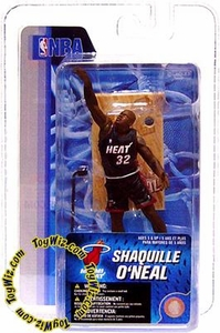 McFarlane Toys NBA 3 Inch Sports Picks Series 4 Mini Figure Shaquille O'Neal (Miami Heat)