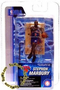 McFarlane Toys NBA 3 Inch Sports Picks Series 4 Mini Figure Stephon Marbury (New York Knicks)