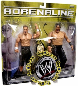 WWE Wrestling Adrenaline Series 25 Action Figure 2-Pack John Cena & Khali