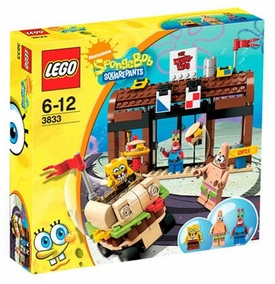 LEGO Spongebob Squarepants Set #3833 Krusty Krab Adventures