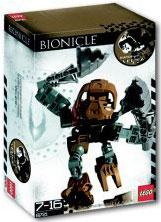 LEGO Bionicle Matoran Set #8721 Velika [Brown]
