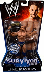 Mattel WWE Wrestling Survivor Series Heritage PPV Series 11 Action Figure Chris Masters 1 of 1,000!