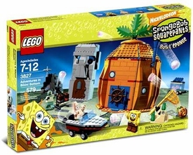 LEGO Spongebob Squarepants Set #3827 Adventures at Bikini Bottom
