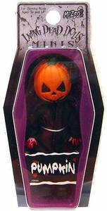 Mezco Toyz Living Dead Dolls Mini Figure Pumpkin