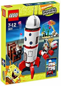 LEGO Spongebob Squarepants Set #3831 Rocket Ride