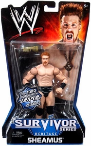 Mattel WWE Wrestling Survivor Series Heritage PPV Series 11 Action Figure Sheamus [Limited Edition 1/1000 with Survivor Series Chair!] BLOWOUT SALE!