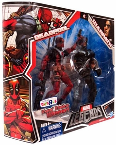 Marvel Legends Fan's Choice Exclusive Action Figure 2-Pack Deadpool [Red Outfit] & Warpath