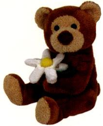 Ty Beanie Baby Bloomfield the Bear