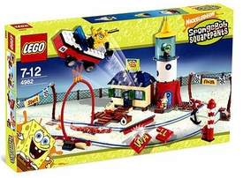 LEGO Spongebob Squarepants Set #4982 Mrs. Puff's Boating School
