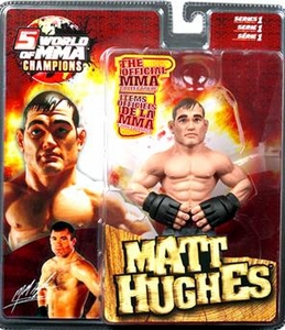 Round 5 World of MMA Champions UFC Series 1 Action Figure Matt Hughes