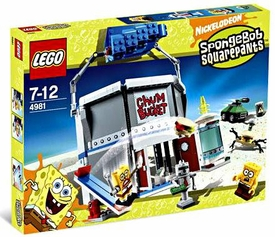LEGO Spongebob Squarepants Set #4981 Chum Bucket
