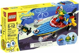 LEGO Spongebob Squarepants Set #3815 Heroic Heroes of the Deep