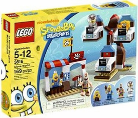 LEGO Spongebob Squarepants Set #3816 Glove World