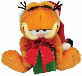 Ty Garfield Beanie Baby Happy Holidays Garfield