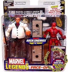 Marvel Legends Face Off Series 1 Action Figure Twin Pack Kingpin vs. Daredevil