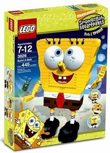 LEGO Spongebob Squarepants Set #3826 Build A Bob Damaged Package, Mint Contents!