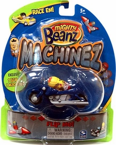Mighty Beanz Machinez Blue Motorbike with Special Edition Motorbike Bean #352