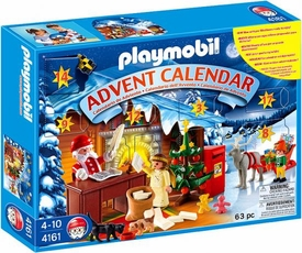 Playmobil Christmas Advent Calendar Set #4161 Post Office