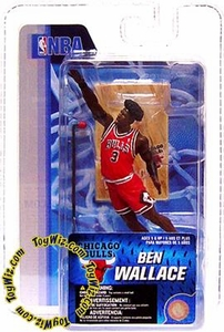 McFarlane Toys NBA 3 Inch Sports Picks Series 4 Mini Figure Ben Wallace (Chicago Bulls)