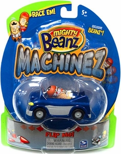 Mighty Beanz Machinez Blue Car with Exclusive Cruizer Bean #350