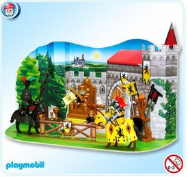 Playmobil Christmas Advent Calendar Set #4163 Emperor's Knights Tournament