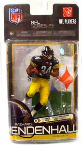 McFarlane Toys NFL Sports Picks Series 23 Action Figure Rashard Mendenhall (Pittsburgh Steelers) Black Jersey