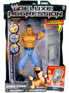 WWE Wrestling DELUXE Aggression Series 21 Action Figure John Cena
