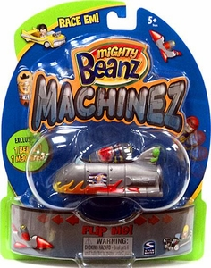 Mighty Beanz Machinez Grey Space Shuttle with Special Edition Shuttle Bean #349