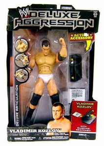 WWE Wrestling DELUXE Aggression Series 21 Action Figure Vladimir Kozlov