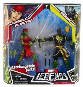Marvel Legends Action Figure 2-Pack Skrull Elektra & Ronin