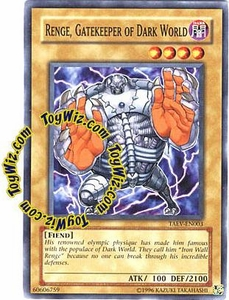 YuGiOh GX Tactical Evolution Single Card Common Range, Gatekeeper of Dark World TAEV-EN003