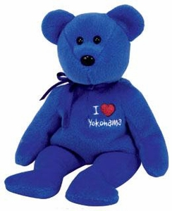 Ty Beanie Baby Japan Exclusive Yokohama the Bear
