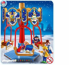 Playmobil Christmas Set #4888 Sled Carousel