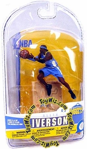 McFarlane Toys NBA 3 Inch Sports Picks Series 5 Mini Figure Allen Iverson (Denver Nuggets)